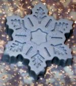 Snow flake soap